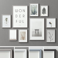Picture Frames Set -100