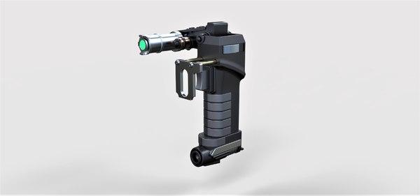 3D pistol energy