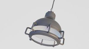 loft lamp industrial 3D