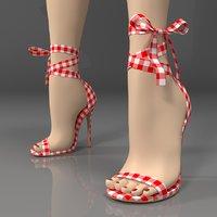 lala ikai women sandals 3D