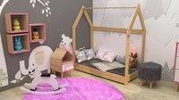 3D kids interior room