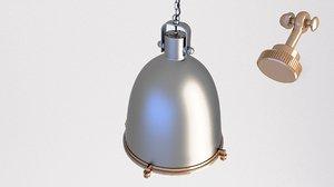 3D loft lamp industrial