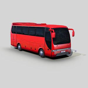 temsa opalin intercity bus 3D model