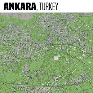 city ankara 3D model