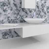3D sink plumbing