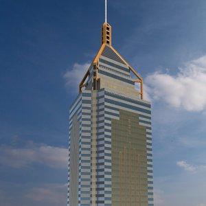 central plaza building 3D model