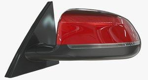 car mirror 3D model