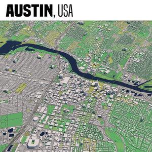 3D city austin texas