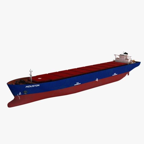 houston bulk carrier 3D model