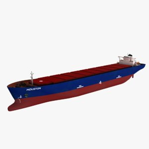 houston bulk carrier 3D model