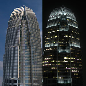 international financial centre 3D model