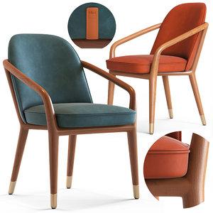 3D ulivi lise armchair model