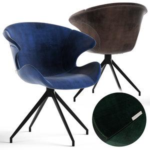 zuvier mia armchair 3D model