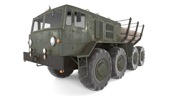 soviet maz 537 timber model