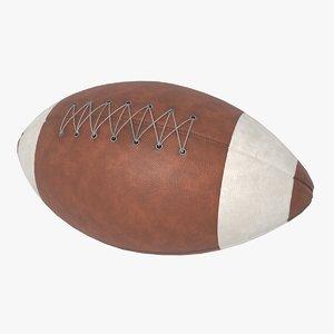 3D realistic american football