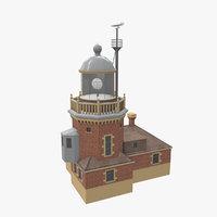 helsingborg light house 3D model