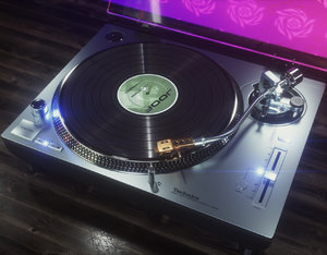 3D octane technics turntable model