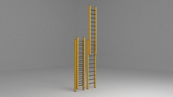 3D ladder work stairs