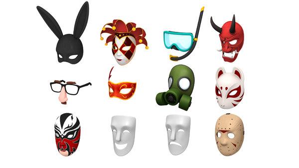 3D mask pack