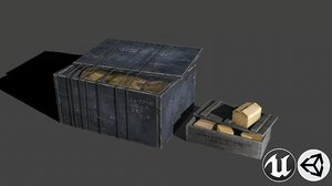 3D loot pbr contains
