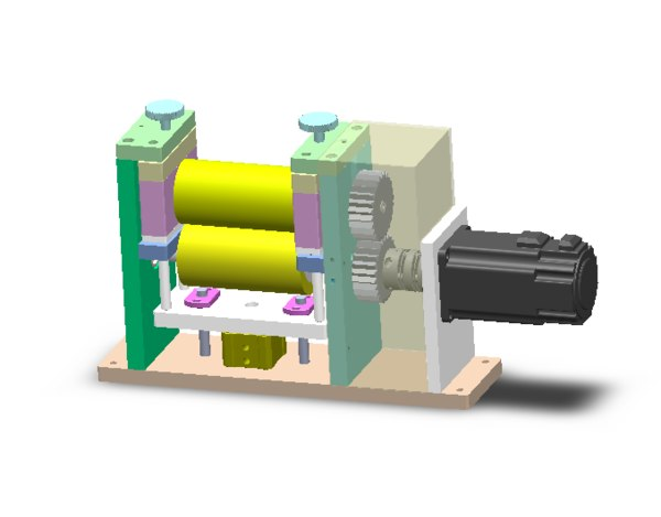 3D coil film conveying mechanism