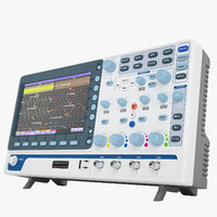 digital oscilloscope mso-2072e 3D model