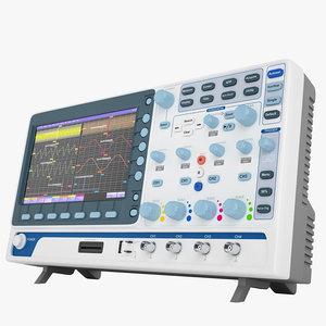 digital oscilloscope mso-2072e 3D model