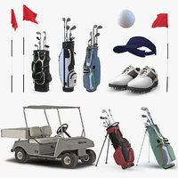 3D golf equipment 3