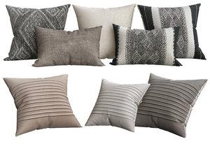 handwoven pillow model