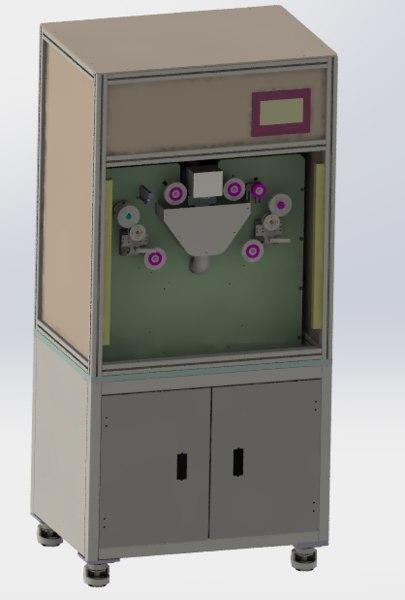 synchronous belt sander machine 3D model