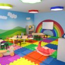 Nursery Classroom Low Poly 3D Model