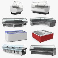 3D refrigerator displays model