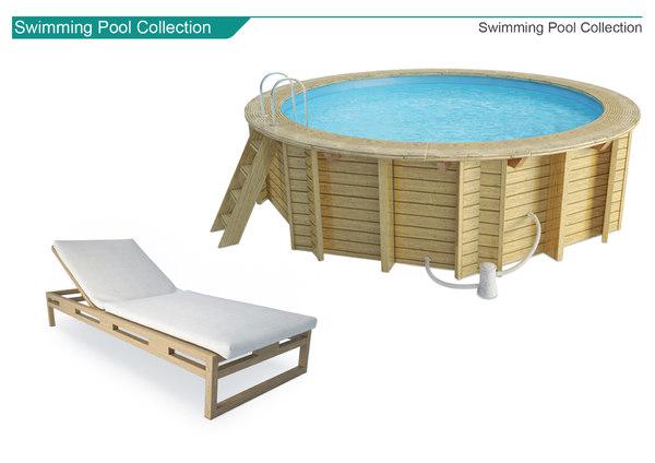 3D model pools accessories