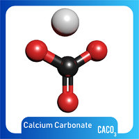 caco3 calcium carbonate 3D model