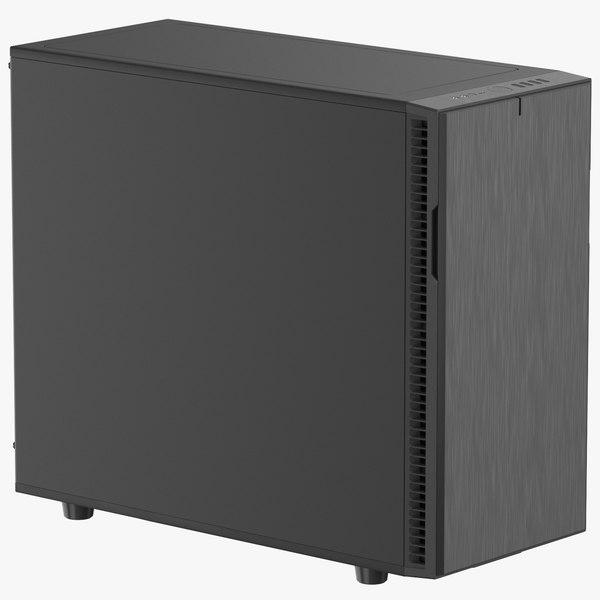 fractal c computer case 3D model