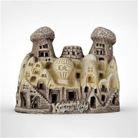 3D cappadocia fairy chimneys 2