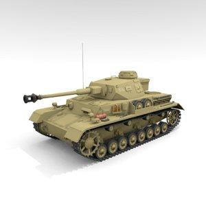 3D panzer iv g