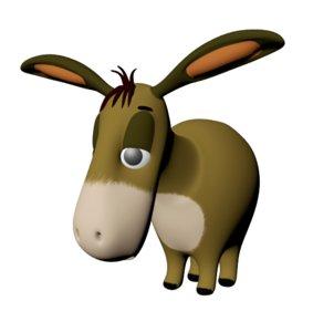 3D donkey winni pooh