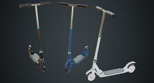3D kick scooter 2a