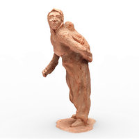 3D mother baby sculpture