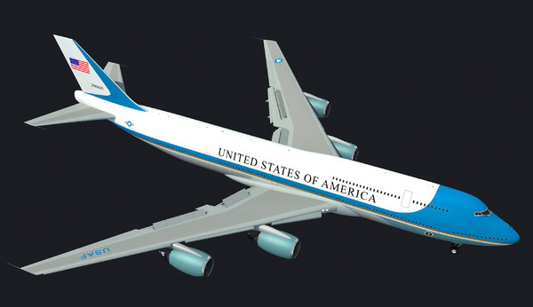 3d landing boeing air force model