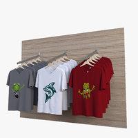t-shirt rack model