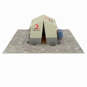 3D tent syria