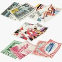 Postage Stamps Collection V3