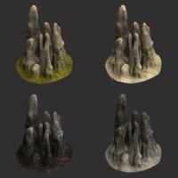 3D stalagmite