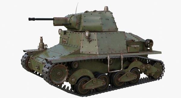 tank l6 40 green model