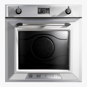 realistic oven victoria electric 3D
