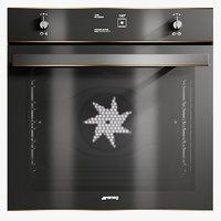 3D realistic oven dolce stil
