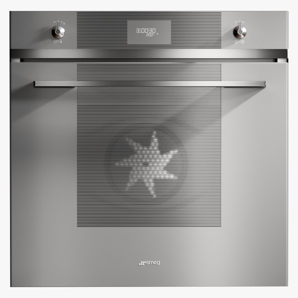 3D realistic oven linea electric