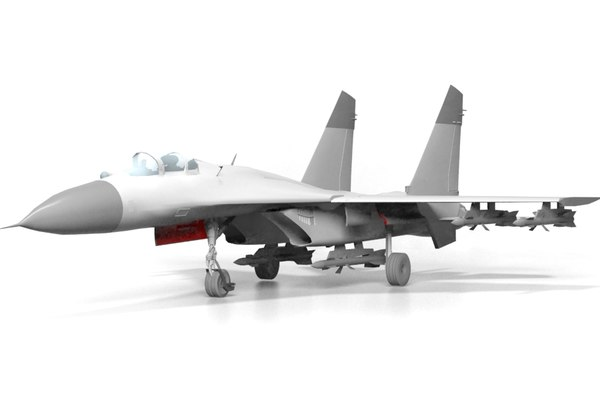 3D su-27 flanker